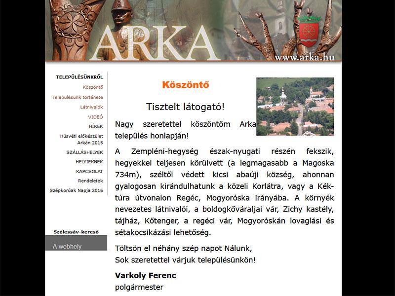 Arka község